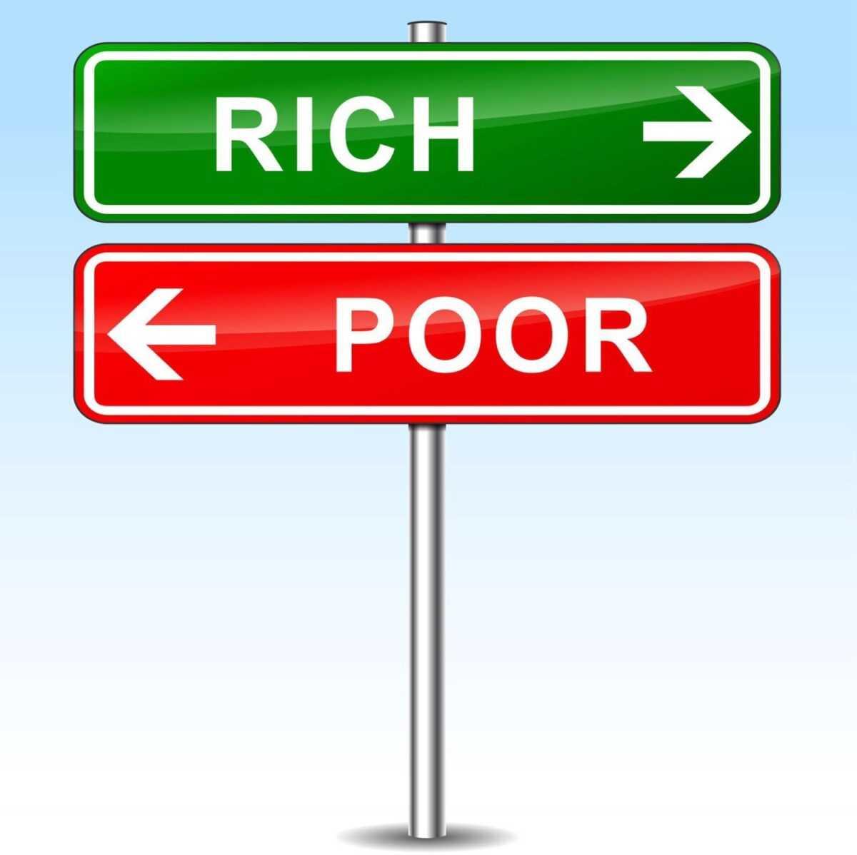 ffd838d9 8447 48d9 94f3 0c9f45fe7b7d 1 - Богатые и бедные – в чем разница?