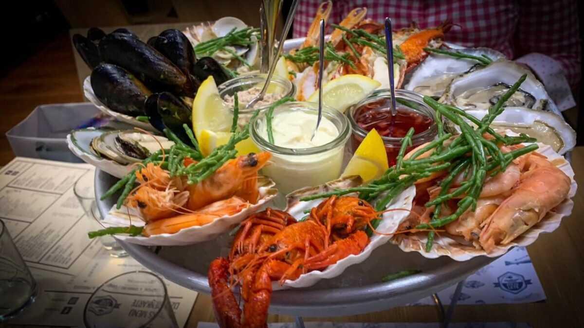 fish food - Топ лучших мест Риги