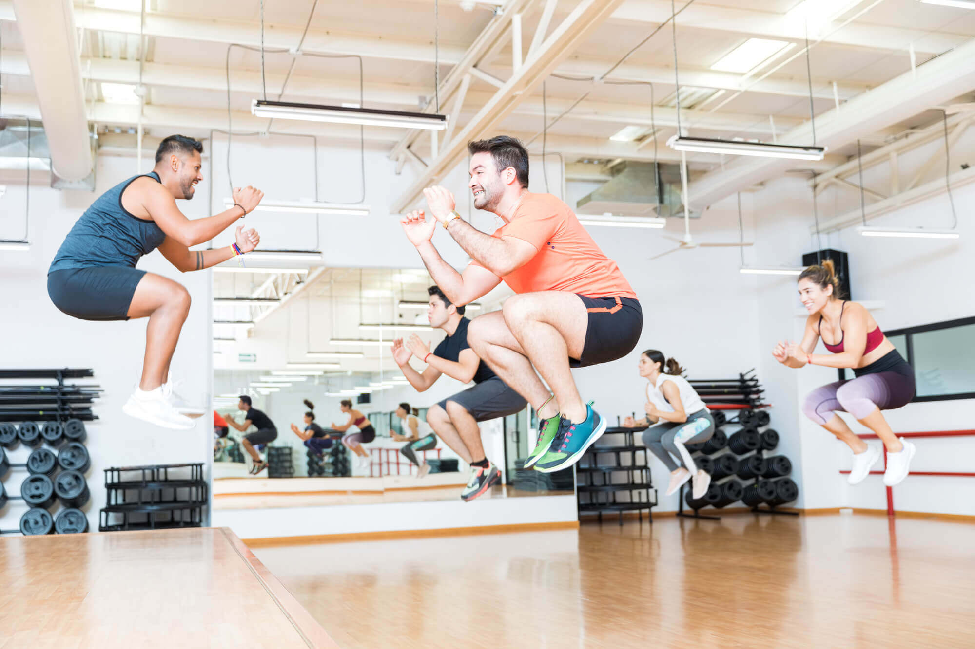 jump - 7 best workouts for men