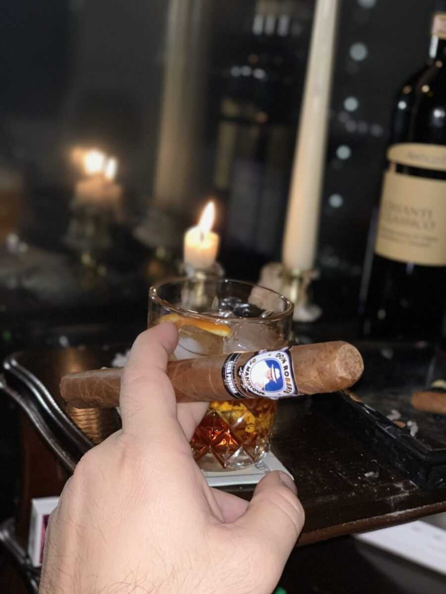 Cigars after meals